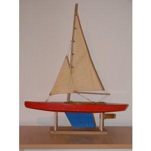 Segelyacht der Firma Seifert, um 1930.
