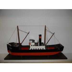 Dampfer der Firma Greiner, gebaut 1926-1935 Länge 80cm (das größte gebaute Boot der Firma)