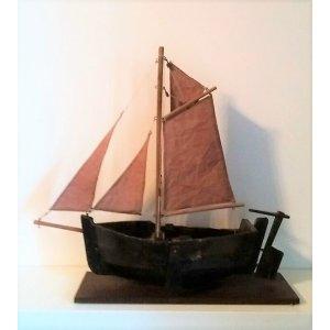 Hollandisches Boot der Firma Ogas ( Otto Greiner Alexander Sohn ) von Steinach um 1910.