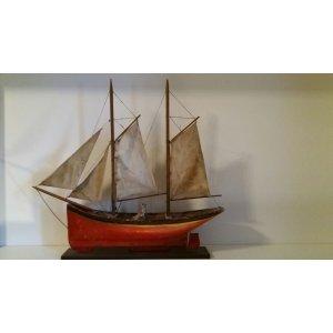 Segelschiff um 1905 der Firma OGAS  aus Steinach.